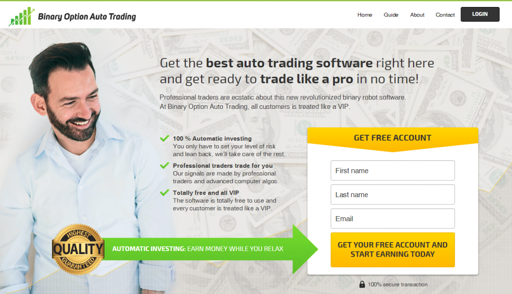 Binary option method