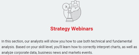 Strategy Webinars Education