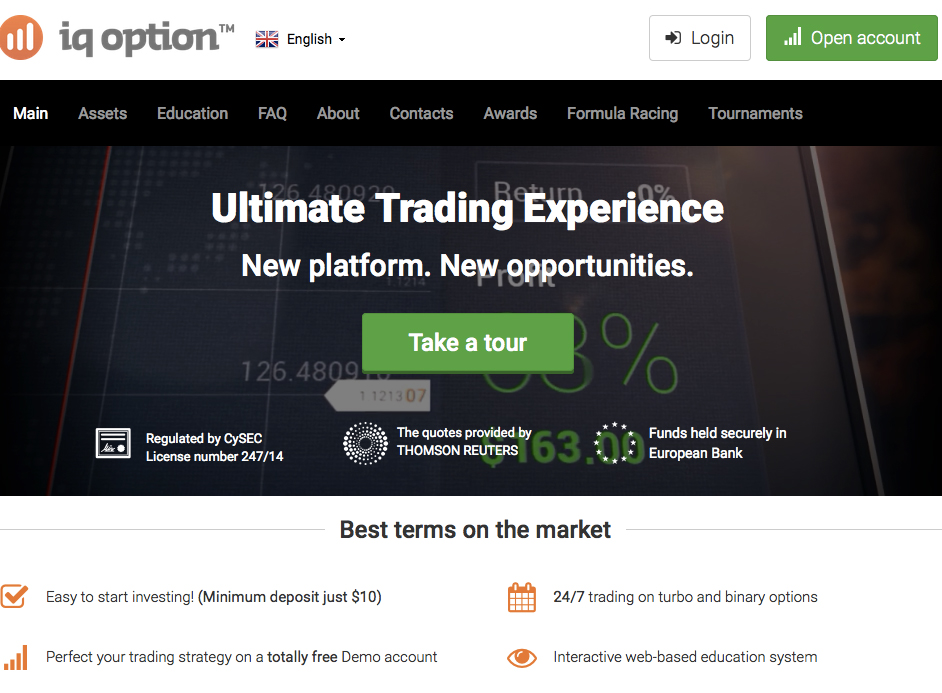 Best Binary Options Broker IQ Option vs 2 Options Review Webinar - England