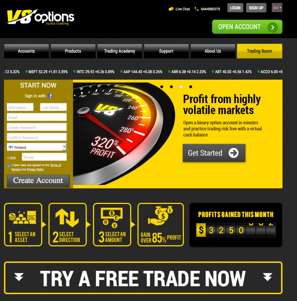 Binary options trading career