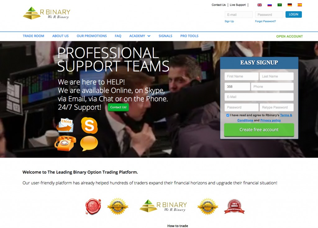 Binary options us friendly