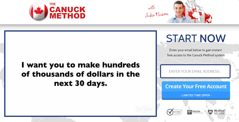 Canuck method binary options