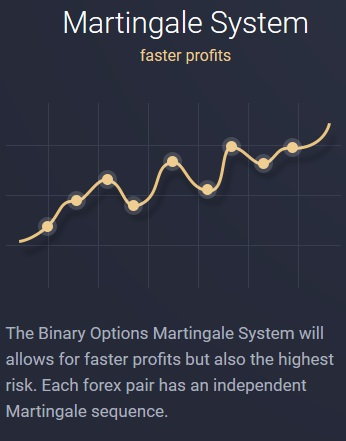 OptionRobot Martingale System