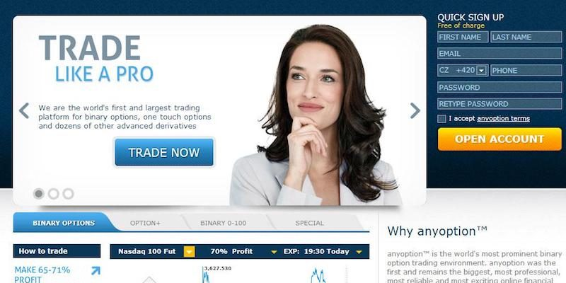 Ouroboros binary options