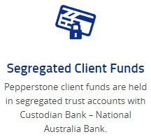 Segregated client funds