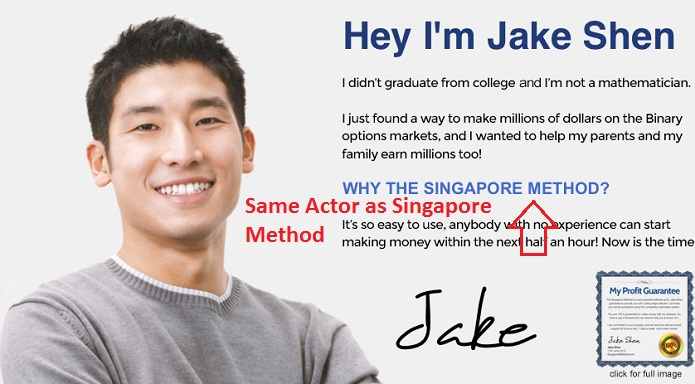 Same Actor Singapore Method