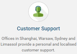 Customer Support Offices Available