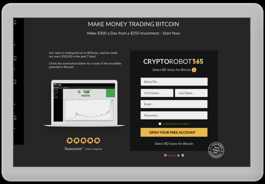 Tablet Platform Crypto